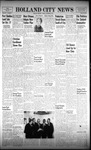 Holland City News, Volume 91, Number 38: September 20, 1962 by Holland City News