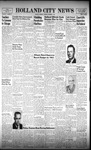 Holland City News, Volume 91, Number 44: November 1, 1962 by Holland City News