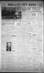 Holland City News, Volume 92, Number 1: January 3, 1963