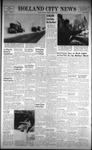Holland City News, Volume 92, Number 5: January 31, 1963