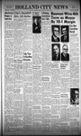 Holland City News, Volume 96, Number 14: April 8, 1967
