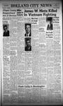 Holland City News, Volume 96, Number 15: April 13, 1967