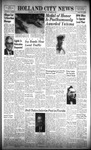 Holland City News, Volume 98, Number 47: November 20, 1969 by Holland City News