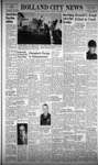 Holland City News, Volume 100, Number 39: September 30, 1971 by Holland City News