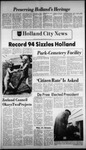 The Holland City News, Volume 106, Number 27: July 7, 1977