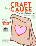 Craft for a Cause with Kids' Food Basket + Kruizenga Art Museum