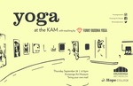 Yoga at the KAM with teaching by Funky Buddha Yoga