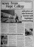 News from Hope College, Volume 4.3: September-October, 1973