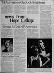 News from Hope College, Volume 5.1: January-February, 1974