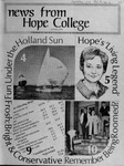 News from Hope College, Volume 5.2: April-May, 1974