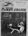 News from Hope College, Volume 12.3: December, 1980