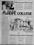 News from Hope College, Volume 12.5: April, 1981