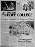 News from Hope College, Volume 13.1: August, 1981