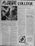 News from Hope College, Volume 14.1: August, 1982