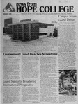 News from Hope College, Volume 15.1: August, 1983