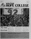 News from Hope College, Volume 20.2: October, 1988
