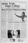 News from Hope College, Volume 4.1: February-March, 1973