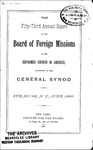 53rd Annual Report of the Board of World Missions