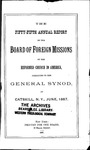 55th Annual Report of the Board of World Missions