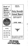 67th Annual Report of the Board of World Missions