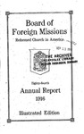 84th Annual Report of the Board of World Missions