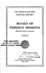 105th Annual Report of the Board of World Missions