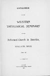 1896-1897. Catalog