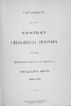 1899-1900. Catalog