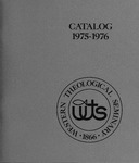 Western Theological Seminary Catalog: 1975-1976 by Western Theological Seminary