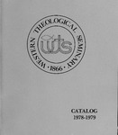 Western Theological Seminary Catalog: 1978-1979