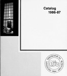 Western Theological Seminary Catalog: 1986-1987 by Western Theological Seminary