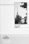 Western Theological Seminary Catalog: 1988-1989 by Western Theological Seminary
