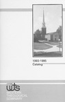 Western Theological Seminary Catalog: 1993-1995 by Western Theological Seminary