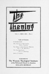 The Theolog, Volume 2, Number 2: May 1929