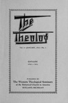 1931. Volume 4, Number 1. January by Western Theological Seminary