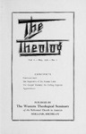 The Theolog, Volume 4, Number 2: May 1931 by Western Theological Seminary