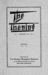 The Theolog, Volume 7, Number 1: January 1934