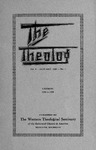 1935. Volume 8, Number 1. January by Western Theological Seminary