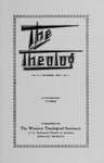 1935. Volume 9, Number 1. October by Western Theological Seminary