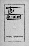 The Theolog, Volume 9, Number 2: January 1936
