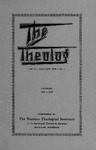 1938. Volume 11, Number 1. January by Western Theological Seminary