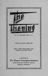 The Theolog, Volume 13, Number 1: January 1940 by Western Theological Seminary