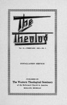 The Theolog, Volume 15, Number 1: February 1942 by Western Theological Seminary